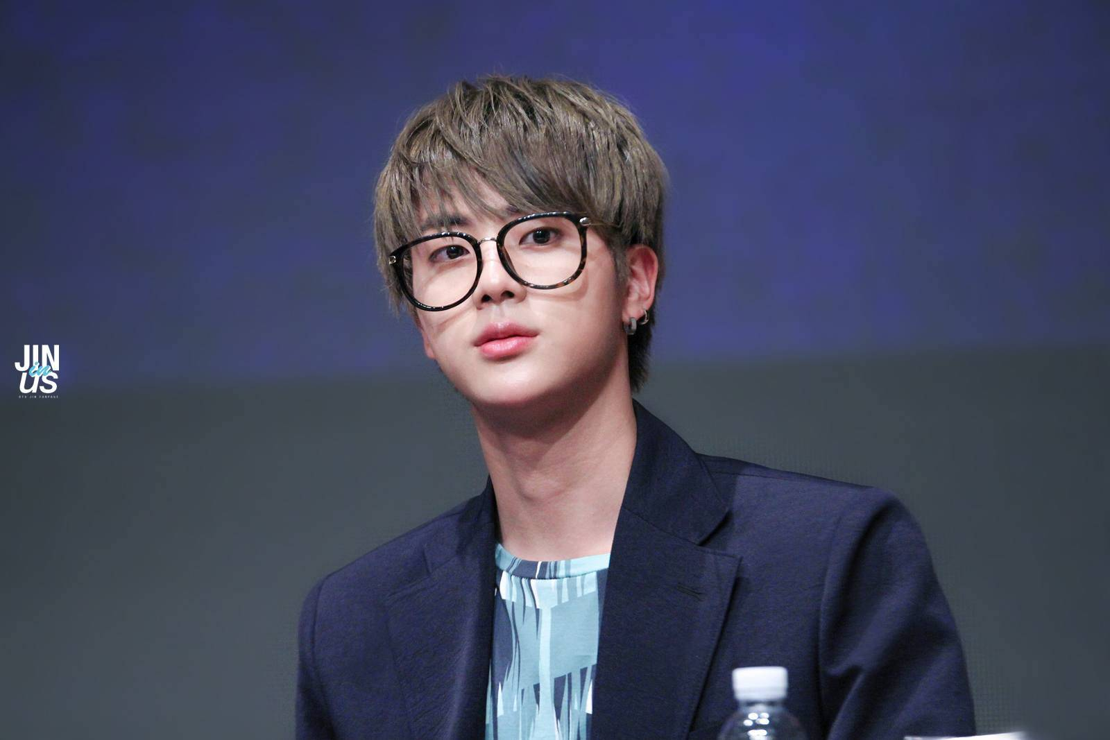 Jin wears the Moonshot Rectangular